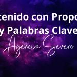Contenido con Propósito y Palabras Clave Agencia SEVERO Marketing y Publicidad